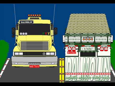 desenho caminhão vitor