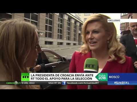 Xxx Mp4 La Presidenta De Croacia Envía Ante RT Todo El Apoyo Para La Selección 3gp Sex