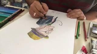 Me drawing #Günther Krabbenhöft UV