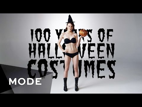 100 Years of Fashion: Halloween Costumes ★ Mode.com