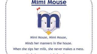 Alphafriends: Mimi Mouse