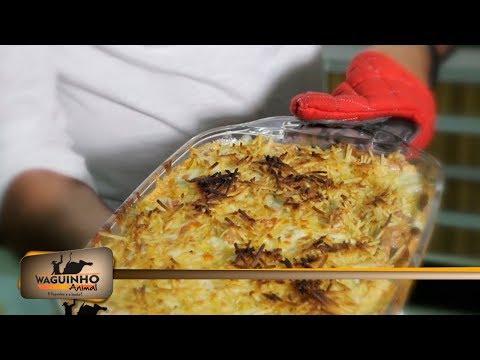 Waguinho Animal - Culinária Animal: arroz de forno 10/03/18