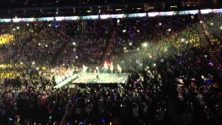 One Direction One way or another and Teenage Kicks 2/4/13 Matinee @ O2