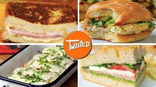 7 Delicious Sandwich Recipes For Lunch | Lunch Ideas | Twisted
