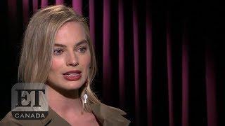 Margot Robbie Talks 'I, Tonya', Being BFFs With Saoirse Ronan