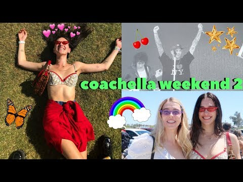 a messy coachella 2018 vlog ~ devon lee carlson🌟
