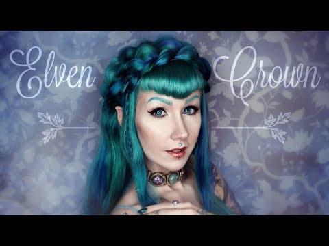 ELVEN CROWN - Haar Tutorial von Cira Las Vegas (English subtitles!)