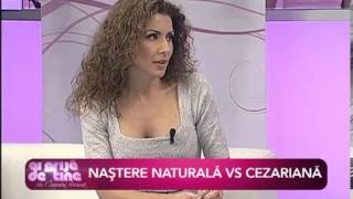 DR. ZORELA SGARBURA, MD, PhD, Nastere naturala vs Cezariana