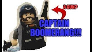Knock Off Lego Review (Captain Boomerang!)