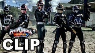 Power Rangers S.P.D. - A-Squad vs. B-Squad Fight Scene ('Endings' Finale Episode)