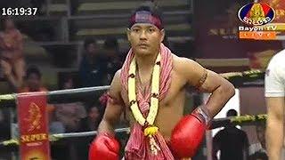 ផល សោភ័ណ្ឌ Vs ដែនពីឈីត, Phal Sophorn, Cambodia Vs DaenPhichit, Thai, Khmer Boxing 15 Dec 2018