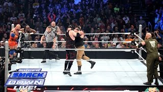Demon Kane, Ryback & The Dudley Boyz vs. The Wyatt Family: SuperSmackDown, December 22, 2015