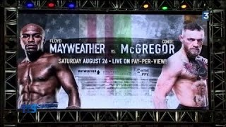 Boxe : Mayweather - McGregor, le combat de tous les excès