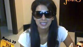 Geeta Basra Promoting Gila Ghaziabad On Jadoo Plus..