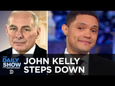 John Kelly's White House Departure & Trump's Struggle to Find a New Chief of Staff | The Daily Show