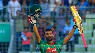 Tamim reaches 5,000 runs milestone in ODI    Tamim Iqbal batting Highlights HD