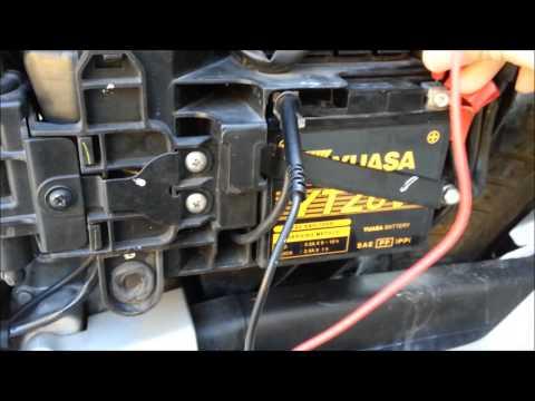 CG Titan 150 Flex Teste de Bateria Multímetro Digital