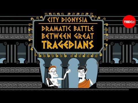 The battle of the Greek tragedies - Melanie Sirof