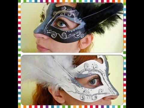 ♡ Masque vénitien  ♡  ☼ DIY en tuto, facile et rapide  ☼
