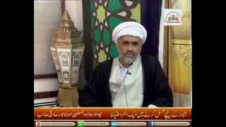 Shower say ghusl lene may ek ahem ehtiyat - Maulana Nadir Sadiqi