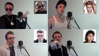 ONE GUY, 22 VOICES (Sam Smith, Michael Jackson, Bruno Mars, iFunny Famous Singer Impressions)