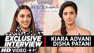 Exclusive Interview : Disha Patani & Kiara Advani || M S Dhoni -The Untold Story ||