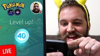 I Have Finally Hit Level 40 In Pokemon Go (Live)