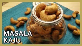 Masala Kaju | Roasted Nuts | Spicy Cashewnuts Recipe by Healthy Kadai