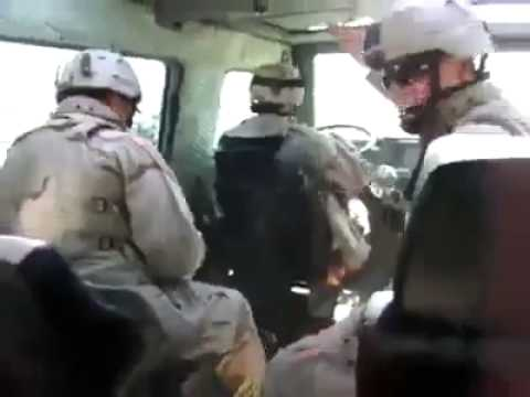 Soldier Drops Grenade Prank