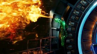 Hal Jordan and Hector Hammond   Green Lantern Extended cut