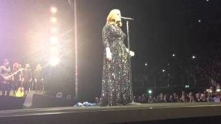 Adele Live at O2 Arena, London April 4th, When We Were Young