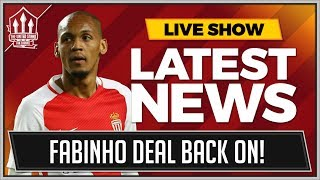FABINHO TO MAN UNITED BACK ON! LATEST TRANSFER NEWS