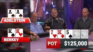AA (Adelstein) vs KK (Berkey) -- $459,000 Pot!!!