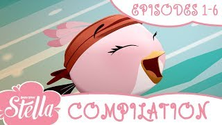 Angry Birds Stella Compilation | Season 2 | Ep1-6