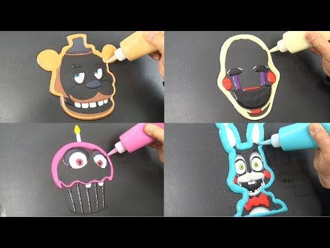 Xxx Mp4 Five Nights At Freddy 39 S Pancake Art Freddy Marionette Toy Bonnie Chica 39 S Cupcake 3gp Sex