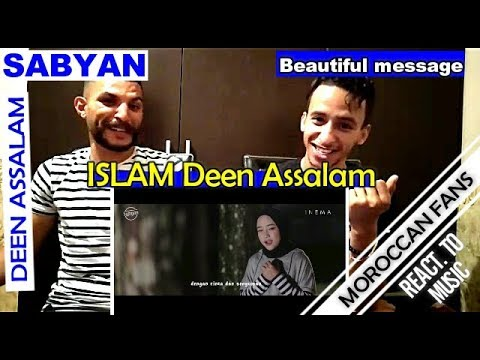 Arab React To | DEEN ASSALAM - Cover by SABYAN (religion of peace) || MOROCCAN REACT