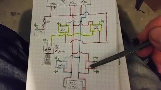 Peltier Ac/heater with 4 pin Relay Schematic