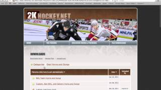 How to Download NHL Goals for Free - HD