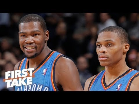 Stephen A. Russell Westbrook didn t view Kevin Durant as OKC s leader First Take