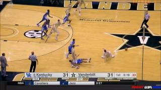 Malik Monk Tomahawk Slam | Mychal Mulder Dunk vs Vanderbilt