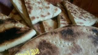 معجنات رمضان وصفة خبز الصاج بمقادير مضبوطة او الكسرة على الطريقه الجزائرية