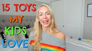 15 TOYS MY KIDS ACTUALLY PLAY WITH  |  BEST TOYS 2018