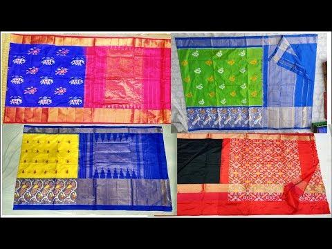 latest pochampally sarees||pochampally sarees wholesale||ikkat silk sarees online shopping