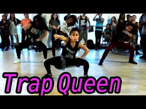 TRAP QUEEN - Fetty Wap Dance | @MattSteffanina Choreography ft 9 y/o Asia Monet! #DanceOnTrap