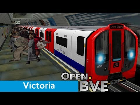 Playing Open.BVE #3 - Victoria Line (2009 Stock): Walthamstow Central to Vauxhall