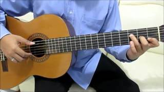 Shawn Mendes Stitches Guitar Tutorial Fingerstyle No Capo (Verse) - Guitar Lessons for Beginners