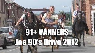 91+ Vanner Horse Drive - Joe 90's Memorial Drive 2012 - Mini Appleby Horse Fair
