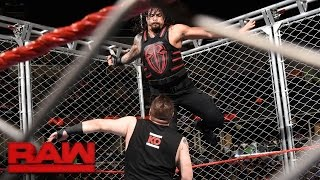 Roman Reigns vs. Kevin Owens – Käfigmatch: Raw, 19. September 2016