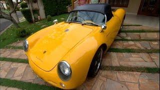 Homem realiza sonho e transforma Brasília 1979 em Porsche
