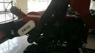 Yanmar mini harvester in sambalpur
